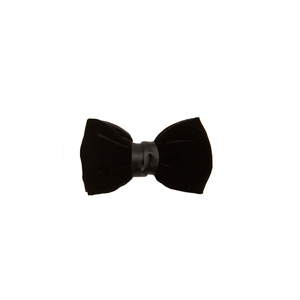 Medium lanvin velvet and satin bow tie matches