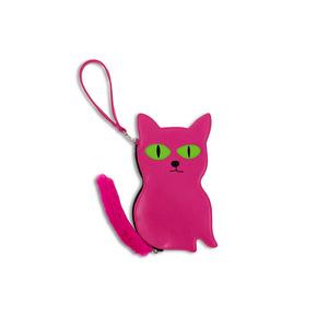 Medium cat purse x david shrigley