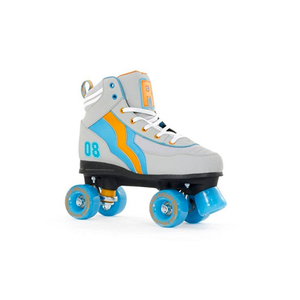 Medium rio roller varsity le quad skates   grey orange blue