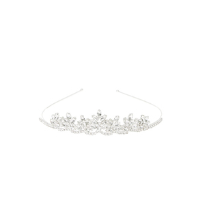 Medium claires accessories low height marquise crystal tiara