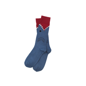 Medium shark socks   shark gifts   uncommongoods