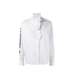 Medium ashley williams tazer ruffle shirt