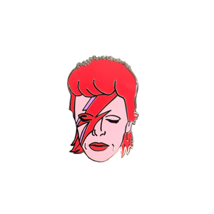 Medium etsy david bowie aladdin sane enamel pin badge