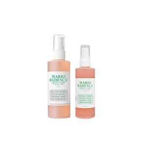 Medium facial spray aloe and rosewater mario badescu