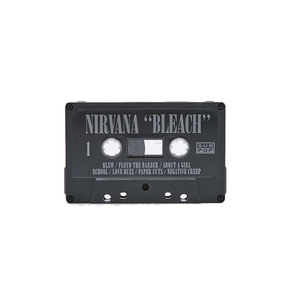 Medium nirvana bleach cassette tape uo
