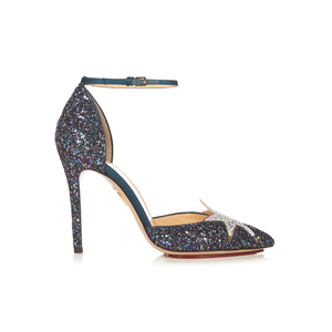 Medium charlotte olympia twilight princess glitter pumps 1