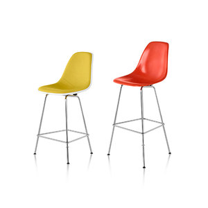 Medium eames office  counter and bar stools