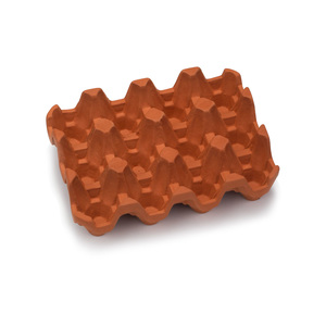 Medium goop terracotta one dozen egg rack