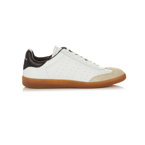 Medium matches isabel marant e toile bryce low top leather trainers