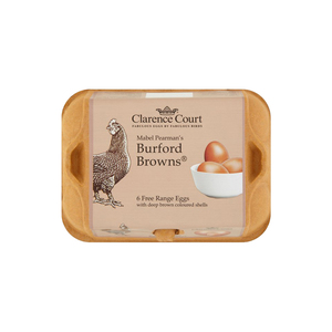 Medium burford brown free range eggs 6 per pack