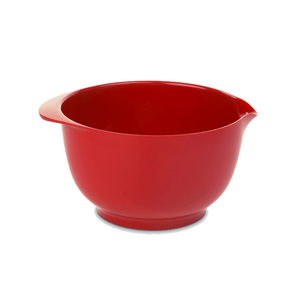 Medium merci 3l red mixing bowl