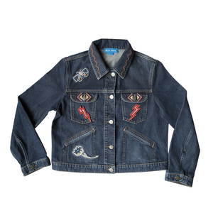 Medium semaine chloe lonsdale mih denim jacket