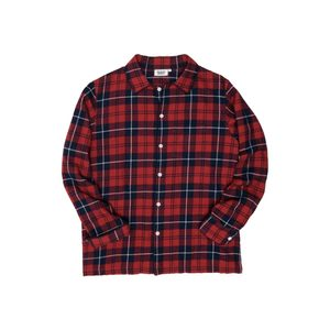 Medium sleepy jones henry pajama shirt plaid