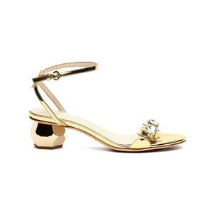 Medium beatrix metallic leather sandals