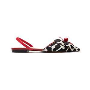 Medium margot haircalf slingback