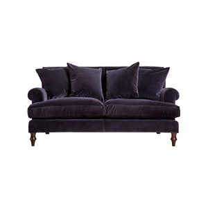 Medium wallace 2 seat sofa varese velvet
