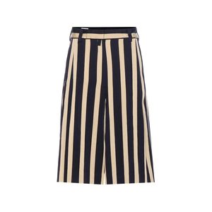 Medium dries van noten striped wool boend cullottes