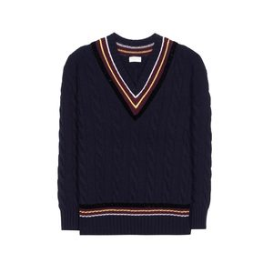 Medium dries van noten merino wool and cashmere sweater