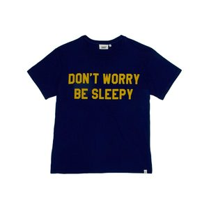 Medium don t worry be sleepy t shirt