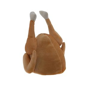 Medium kangaroos plush thanksgiving day roasted turkey hat