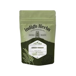 Medium ginger powder indigo herbs of glastonbury