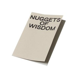 Medium a load of jargon  nuggets of wisdom  notebook a5
