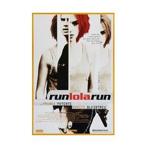 Medium run lola run poster