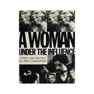 Medium a woman under the influence poster movie