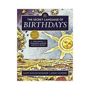 Medium birthday book