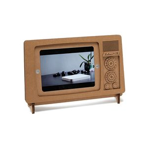 Medium uncommon goods cardboard ipad tv stand