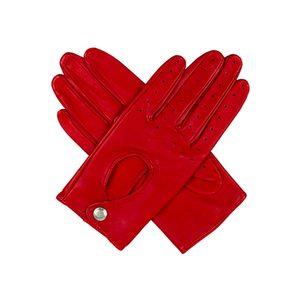 Medium selfridges leather keyhole driving gloves