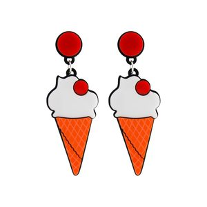 Medium yaz bukey ice cream plexi earrings