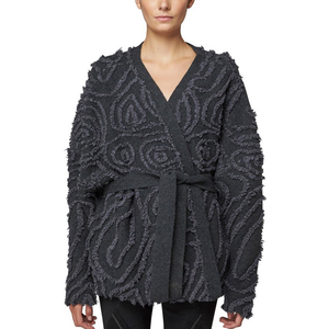 Medium maiyet moire jaquard wrap