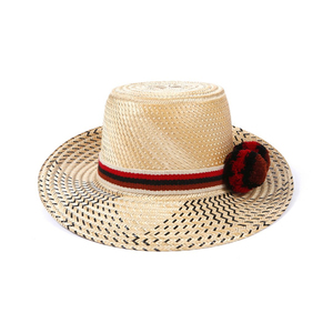 Medium straw hat