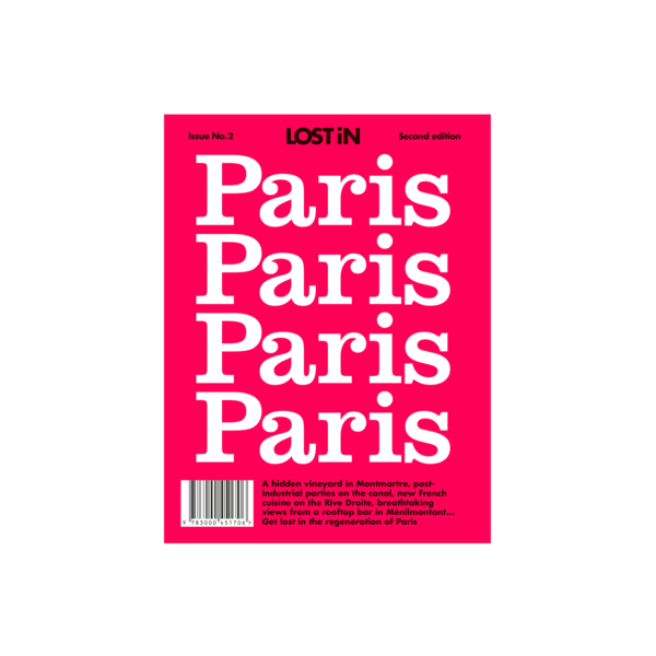 Large lost in paris