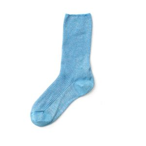 Medium ganni adler rib ankle socks