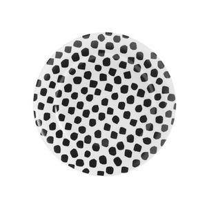 Medium dotssaladplate