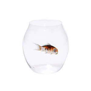 Medium lobmeyr glass fish tumbler