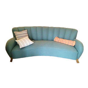 Medium pamono swedish art deco sofa