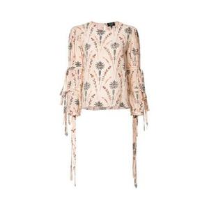 Medium cow floral print blouse farfetch