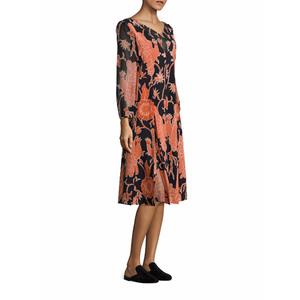 Medium cow rooster print dress