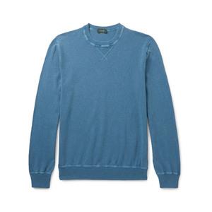 Medium incotex knitted cotton sweater mr porter