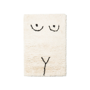 Medium private parts rug