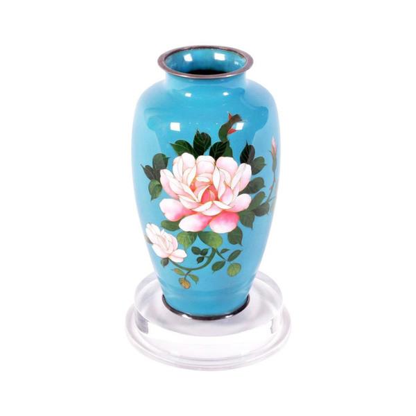 Large japanese cloisonne vase