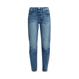 Medium matches frame le original straight leg step hem jeans