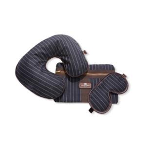 Medium moda operandi pin stripe travel set