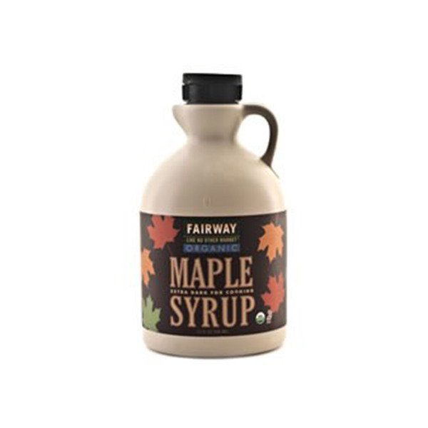 Large fairway organic maple syrup extra dark for cooking