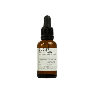 Medium le labo oud oil.