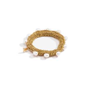 Medium pearl diver cuff