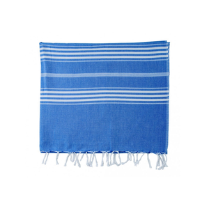 Medium 7. hammam towel stripe greek blue